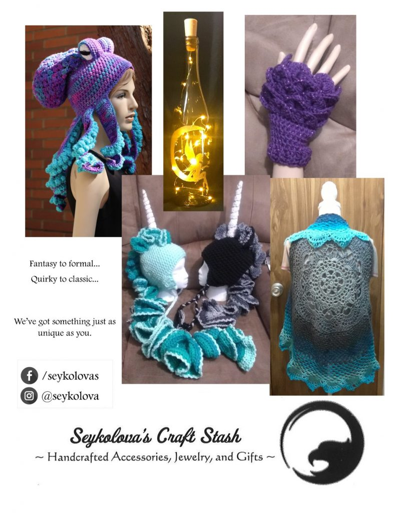 Seykolova's Craft Stash Flyer